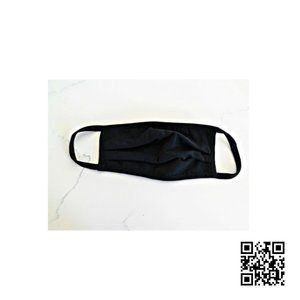 Other - Black Cotton Washable Face Mask Made In USA